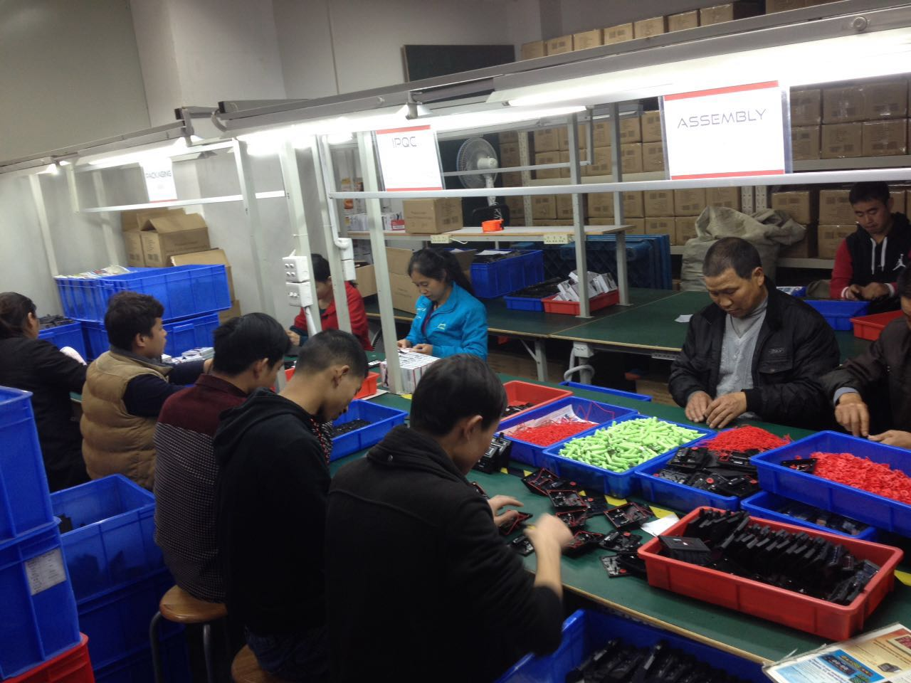 China Contract Manufacturing Assembly Services